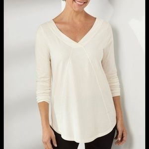 New with tags soft surroundings Carmelina tunic